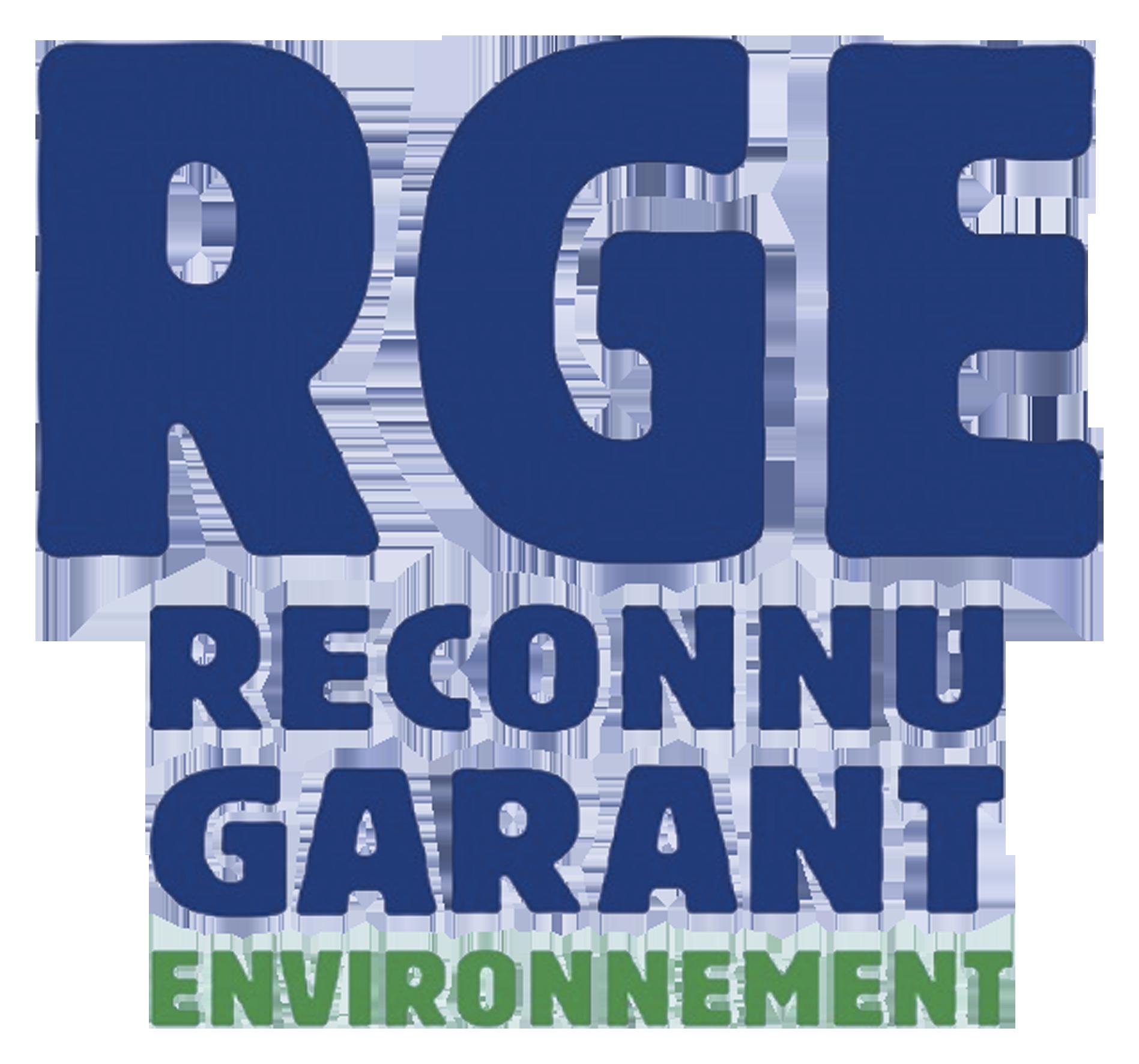 Logo RGE, Reconnu garant de l'environnement