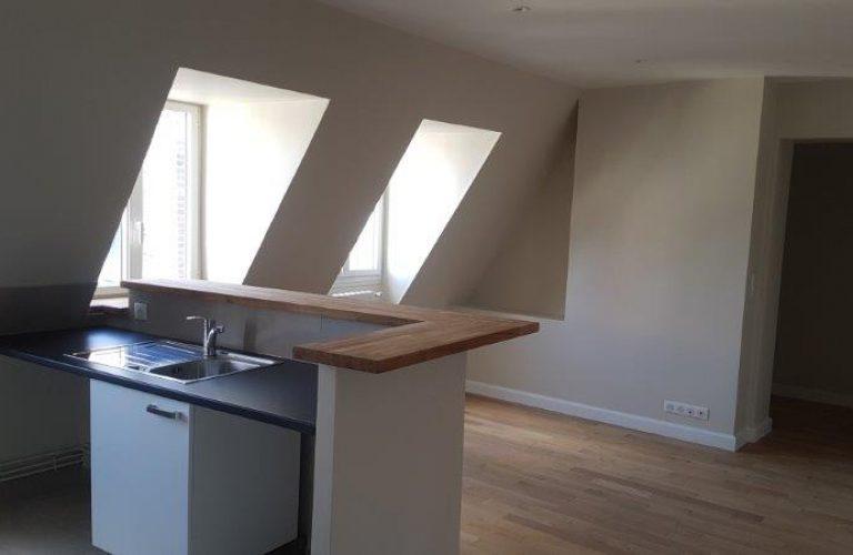 rénovation logement, installation cuisine, pose de parquet, fenêtres _ Paris