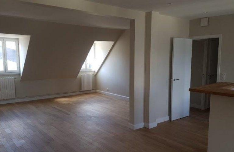 rénovation logement, pose de parquet, décloisonnement _ Paris